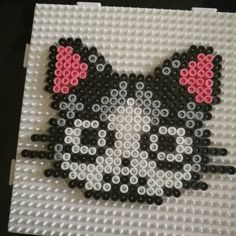 Chi cat perler beads by guitou.v