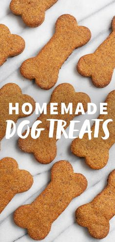 Homemade Dog Food Your four-legged friends will love these Healthy Homemade Dog Treats, which are packed with wholesome ingredients like oats, pumpkin, applesauce, and eggs. Pumpkin Dog Treats, Homemade Dog Treats, Homemade Gifts, Doggie Treats, Dog Chews, Dog Snacks, Dog Biscuit Recipes, Dog Treat Recipes, Dog Food Recipes