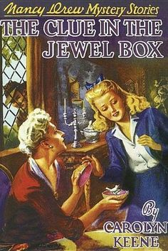 """FULL BOOK """"The Clue in the Jewel Box by Carolyn Keene""""  value full offline read english pc original"""