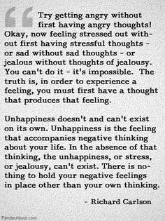 Emotion often overrides reason and throws the mind in chaos. Negative, unruly thoughts are fuelled by negative, unruly emotions. We can choose to do it differently.