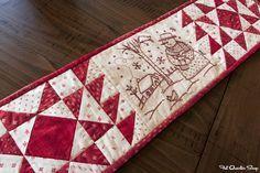 Row.. Row.. Row Along with Moda Fabrics - Fat Quarter Shop's Jolly Jabber