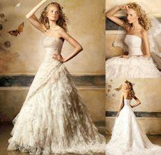 Bohemian Wedding Dresses.