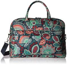Vera Bradley Perfect Companion Travel Bag *** You can find more details by visiting the image link. Note:It is Affiliate Link to Amazon.