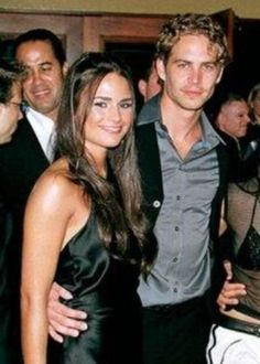 "With Jordana Brewster at the premiere of ""Fast and Furious"" in Westwood, CA June 18, 2001"