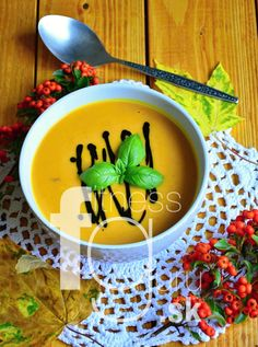 Jesenná tekvicová polievka