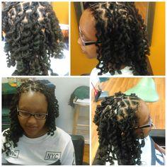 Lock Maintenance w/Curls #cosmo2k16 #cosmetologist