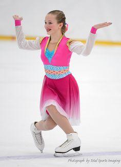 Phoenix Intermediate - Dye Sublimated Arabian theme Custom Skate Dress