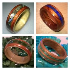 Wedding bands on pinterest wood rings coupon codes and for Design your own wooden ring