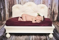 Newborn Photography Prop Bed  Tufted Madison by BeansInaBucket, $120.00