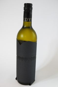 Sexy little black dress for your bottles! www.creativehello.co.uk