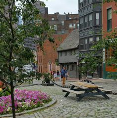 Historic North End Boston with Paul Revere's house