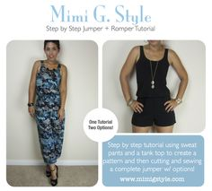 Tank Jumper Tutorial   Download Available Now  www.mimigstyle.com