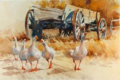 Carl Purcell Resimleri - Carl Purcell Suluboya Resimleri