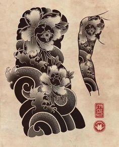 Japan Travel April - - I Love Japan Wallpaper - Japanese Dragon Tattoos, Japanese Tattoo Art, Japanese Tattoo Designs, Japanese Sleeve Tattoos, Japanese Art, Yakuza Tattoo, Kunst Tattoos, Body Art Tattoos, Arabic Tattoos