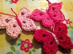 10 Beste Afbeeldingen Van Vlinder Haken Crochet Butterfly Crochet