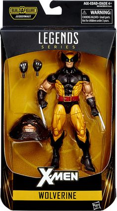 Marvel X-Men Marvel Legends Juggernaut Series Wolverine 6 Action Figure Brown Costume Hasbro Toys - ToyWiz Marvel Legends Figures, Marvel Legends Series, X Men Marvel, Marvel Comics, Lego Marvel, Marvel Heroes, Xmen, Comic Book Heroes, Comic Books