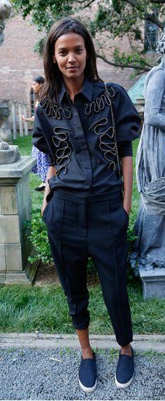 Liya Kebede in Stella McCartney