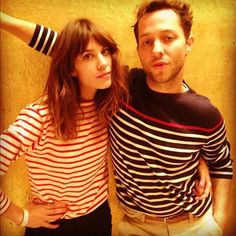 love alexa's red stripe shirt