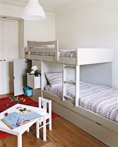 Bunk beds-overlapping.