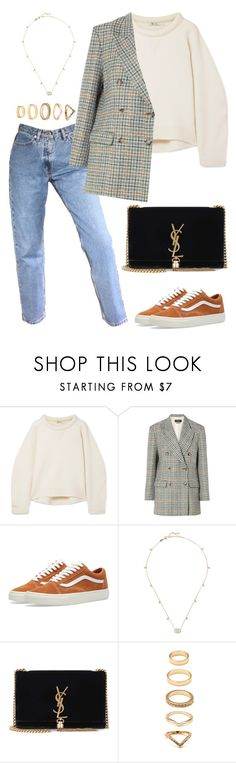 """Untitled #2115"" by kellawear on Polyvore featuring T By Alexander Wang, Isabel Marant, Vans, Gucci, Yves Saint Laurent and Forever 21"