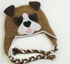 This is a pattern for a Dog Breed Saint Bernard hat made to resemble the popular dog breed Saint Bernard. It can easily be made for any person.