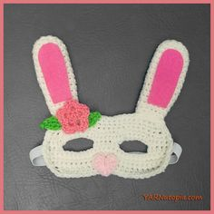 For anyone who has a little one who loves to play dress up, this bunny is so fun to expand their imagination!Just in time for Easter, these are perfect for masquerade play, character building, and…