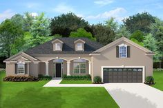 Home Building Construction Floor Plans, Architectural Drawings Blueprints by Professional Home Building Designers Architecture Drawing Plan, Landscape Architecture Design, Florida House Plans, Florida Home, Best House Plans, House Floor Plans, Monster House Plans, Paint Colors For Home, House Layouts