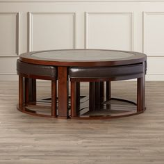 Found it at AllModern - Thornburgh 5 Piece Coffee Table & Stool Set