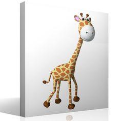 Lovely Kinderzimmer Wandtattoo Giraffe