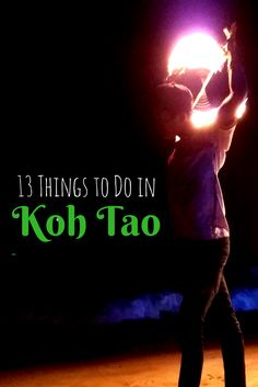 Want to know more about my favorite island in Thailand? Read this guide on what to see and things to do on Koh Tao, Thailand.