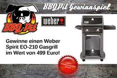 Gewinne einen Weber Spirit EO-210 Gasgrill im Wert von 499 Euro