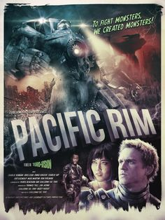 PACIFIC RIM - Collection of Cool Original Poster Art