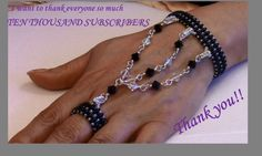 Falling Tears Bracelet (Beadweaving and Wirewrapping) Beaded Rings, Beaded Bracelets, Handmade Wire Jewelry, Slave Bracelet, Bracelet Crafts, Beaded Jewelry Patterns, Homemade Jewelry, Jewelry Making Tutorials, Bracelet Tutorial