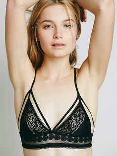 For Love & Lemons Forget Me Not Bralette at Free People Clothing Boutique