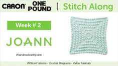 18 Best Stitch Along With The Crochet Crowd & Joann images in 2018