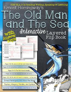 The Old Man and The Sea: Interactive Layered Flip Book ($)