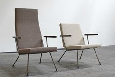 lifeonsundays:  'Two easy chairs' - Gispen/Kembo by Wim Rietveld...
