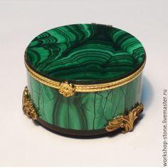Купить Малахитовая шкатулка СКАЗКА - зеленый, шкатулка малахитовая, ювелирная упаковка, подарок женщине