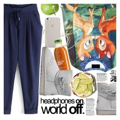"""""""Headphones On! World Off!"""" by pokadoll ❤ liked on Polyvore featuring мода, Molami, Sheinside и shein"""