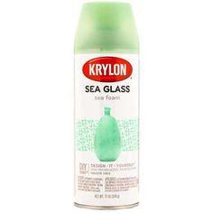 Krylon Sea Foam Sea Glass Spray Finish