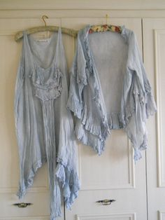 BNWT OSFM Genuine RitaNoTiara w/ Magnolia Bow Jacket & Long Top  Suit  Lavender Pearl Cotton Silk Voile Romantic Lagenlook via Etsy