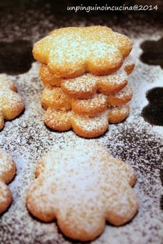 Un pinguino in cucina: Frollini al mais - Corn Cookies