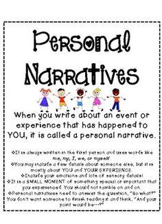 Define personal narrative essay