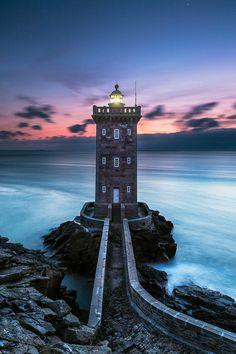Kermorvan Lighthouse Finistère, France