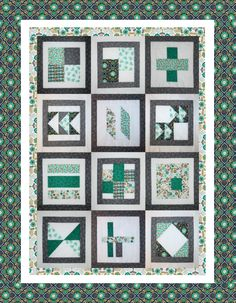 Free Block of the Month Quilt Pattern: Botanical Love – BOMquilts.com