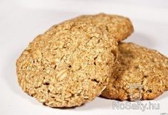 Kókuszos zabpelyhes rozskeksz Krispie Treats, Rice Krispies, Diet Recipes, Healthy Recipes, Healthy Meals, Muffin, Food And Drink, Low Carb, Paleo
