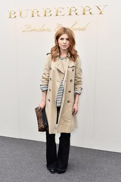 f2ed7f897989  ClémencePoésy at Burberry Fall 2016 fashion show Idee Tenue, Icônes De  Style, Vetement