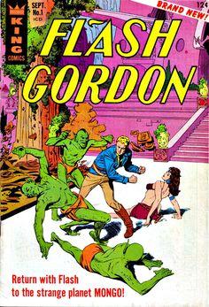 King Comics Flash Gordon
