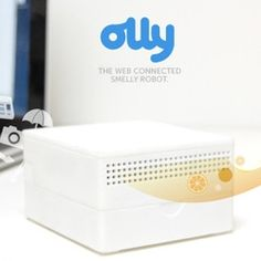 What the what? Olly by ollyfactory: A web connected smelly robot to convert notifications into smell.