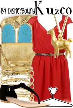 Kuzco by Disney Bound. Anything to get a llama necklace. Haha